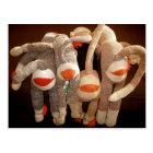 sock monkeys flipside postcard