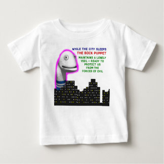 Sock Puppet Lonely Vigil Baby T-Shirt