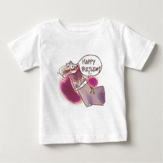 sock puppet say happy birthday baby T-Shirt