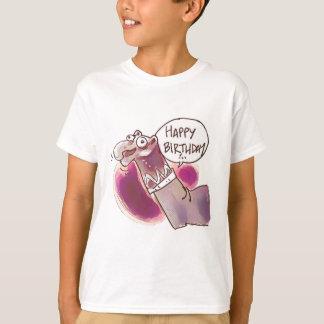 sock puppet say happy birthday T-Shirt