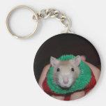Sock Rat Key Chain