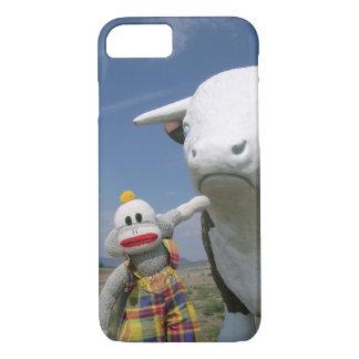 SockMonkey and Friend iPhone 7 Case