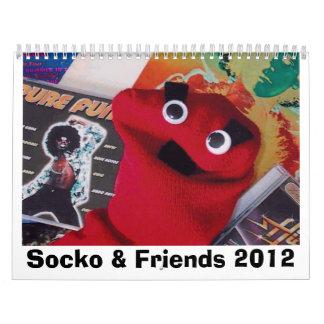 Socko & Friends 2012 Calendar