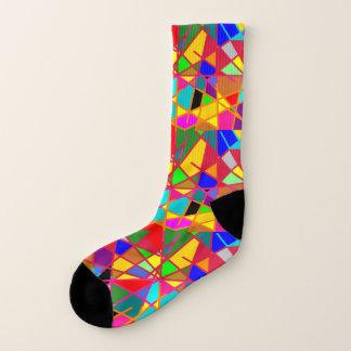 Socks: Crazed Stained Glass Effect. Socks