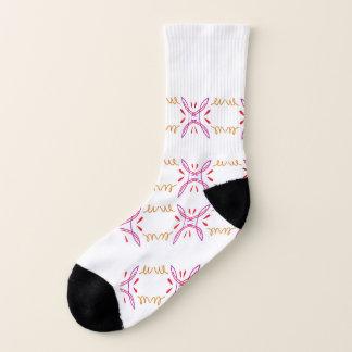 Socks ethno white