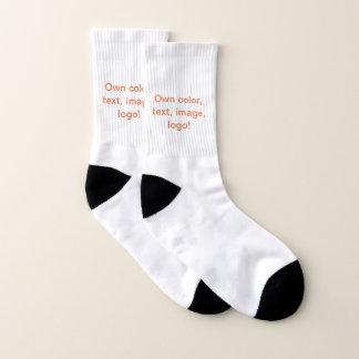 Socks uni White - Own Color 1