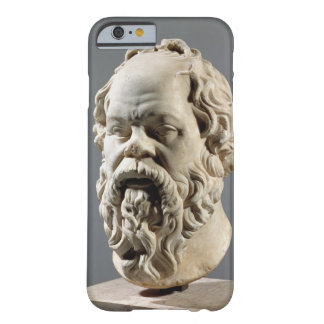Socrates, marble head, copy from a bronze from the barely there iPhone 6 case