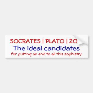 Socrates | Plato | 2012 Bumper Stickers