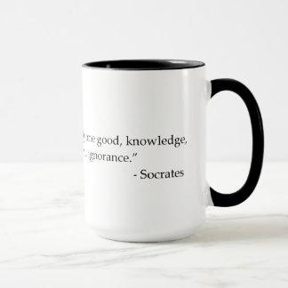 Socrates Quotable Quote Philosophy Coffee Mug