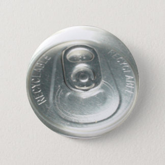 Soda can 6 cm round badge