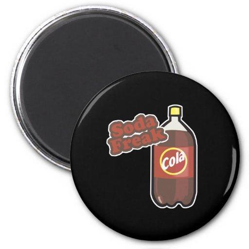 Soda Freak Fridge Magnets