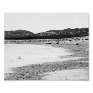 Soda Lake Carrizo Plain California Poster