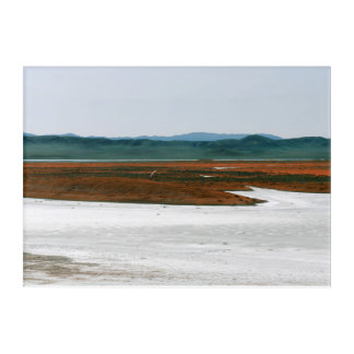 Soda Lake Carrizo Plain National Monument CA Acrylic Wall Art