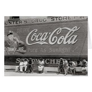 Soda Pop Billboard, 1939 Card