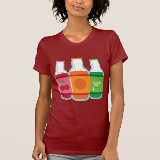 Soda Pop Bottles Tshirt