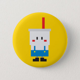 Soda-pop Button - Yellow