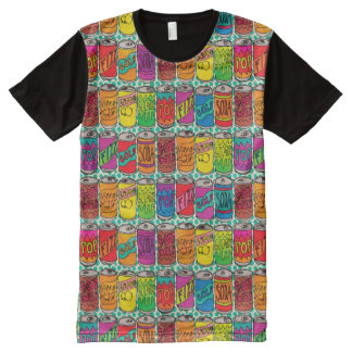 Soda Pop Cans All-Over Print T-Shirt
