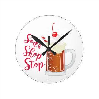 Soda Shop Stop Clocks