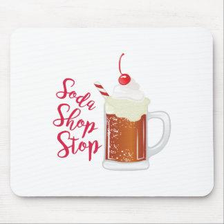 Soda Shop Stop Mouse Pad