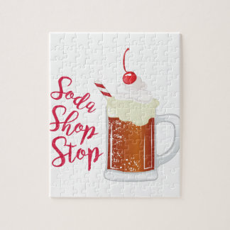 Soda Shop Stop Puzzle