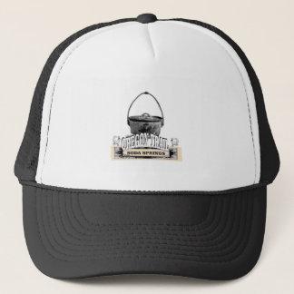soda springs baking trucker hat