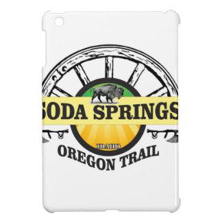 soda springs oregon trail art iPad mini cover