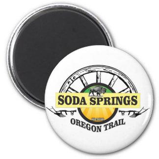 soda springs oregon trail art magnet