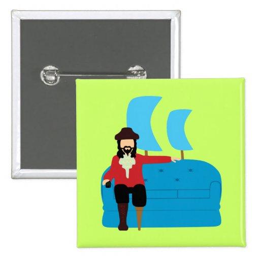 Sofa Pirate Button