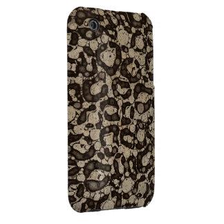 Sofia Cheetah Texture iPhone 3 Cases