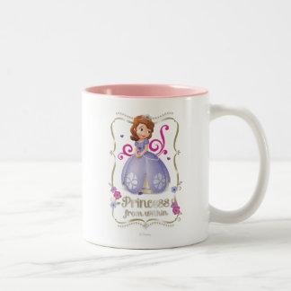 Sofia: Princess from Within Two-Tone Coffee Mug