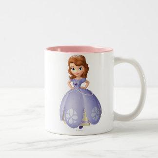 Sofia the First 2 Two-Tone Coffee Mug