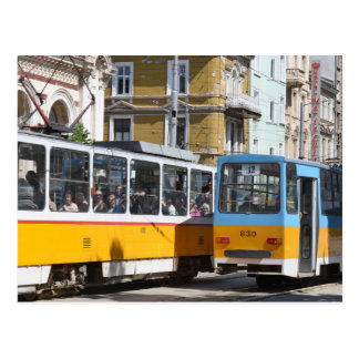 Sofia Trams, Bulgaria Postcard