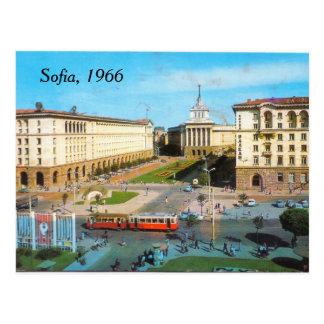 Sofia vintage postcard