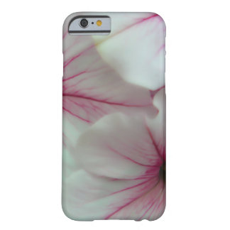 Soft and delicate Pink Petunias Barely There iPhone 6 Case