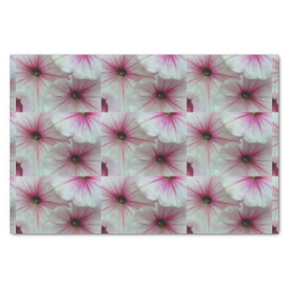 Soft and delicate Pink Petunias Tissue Paper