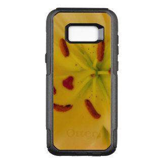 Soft and Dreamy Yellow Lily OtterBox Commuter Samsung Galaxy S8+ Case