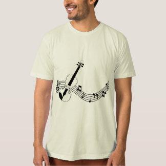 Soft and Natural super t-shirt organic - Violin