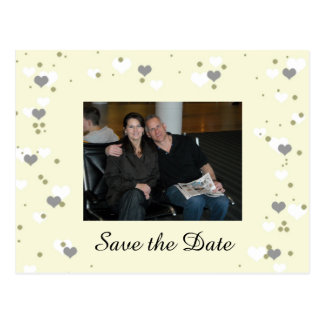 Soft and Romantic Save the Date Postcard