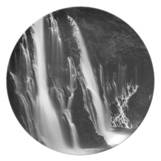 Soft and Smooth Burney Falls Plate