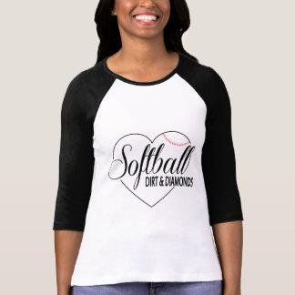 """Soft ball shirt """"Dirt&Diamonds """""""