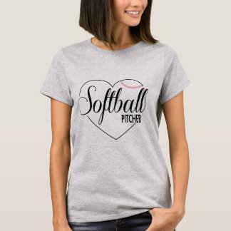 "Soft ball shirt ""pit Cher """