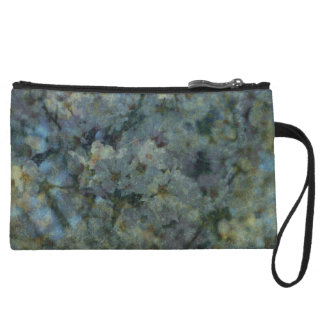 Soft Blue Orchard Clutch Purse