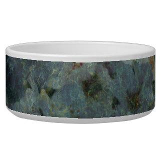 Soft Blue Orchard impressionist floral Pet Bowl