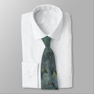 Soft Blue Orchard Regular Tie