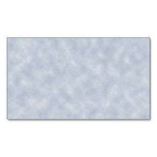 Soft Blue Parchment Look Magnetic Business Cards