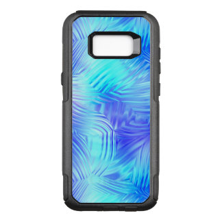 Soft Blue Patterned Glass OtterBox Commuter Samsung Galaxy S8+ Case