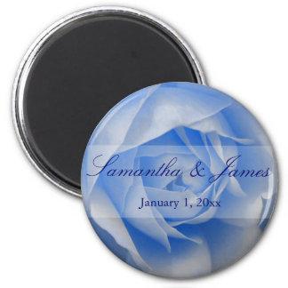 Soft Blue Rose Magnet