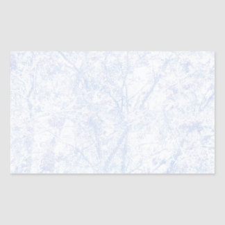 Soft Blue Tint Rowan Rectangular Sticker