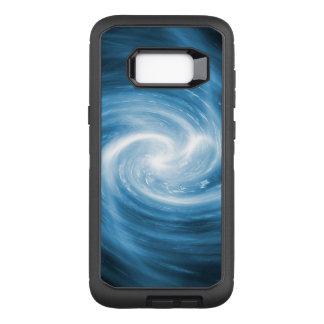 Soft Blue Whirlpool Swirl OtterBox Defender Samsung Galaxy S8+ Case
