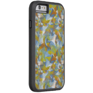 Soft blues/greens/orange swirling shapes phone cas tough xtreme iPhone 6 case